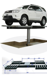 Wheel Stand Car Washing Lift