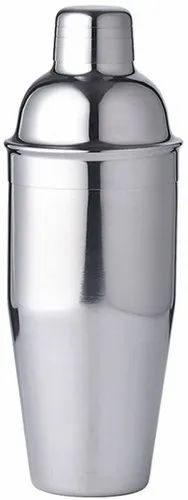 Cocktail Shaker Silver Copper Cocktail Shaker With Built In Strainer Manufacturer From New Delhi