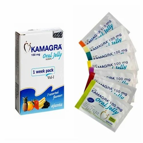 Kamagra Oral Jelly at Rs 170/pack | Sexual Health Supplement | ID:  22589955988