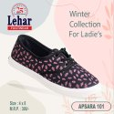 Women Fabric Rexine Ladies Ballerina Shoe, Size: 4x8