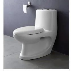 Closed Front White Classic Western Toilet, For Bathroom Fitting
