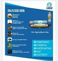 WATER SOFTENER  AGRICULTURE