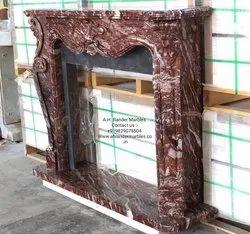 Stone Fireplace