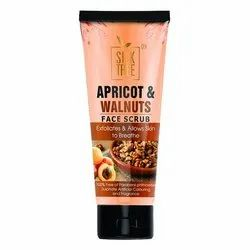 Apricot And Walnuts Exfoliating Face Scrub, For Personal, Packaging Size: 100 Gm