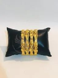 New Collection Gold plated designer Bangles
