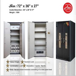 Heavy Hinges Double Door Security Safe