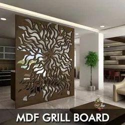 MDF Grill Board Laser Cutting Service