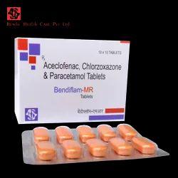 Aceclofenac, Chlorzoxazone and Paracetamol Tablets