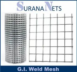 Hot Dipped Galvanized Weld Mesh