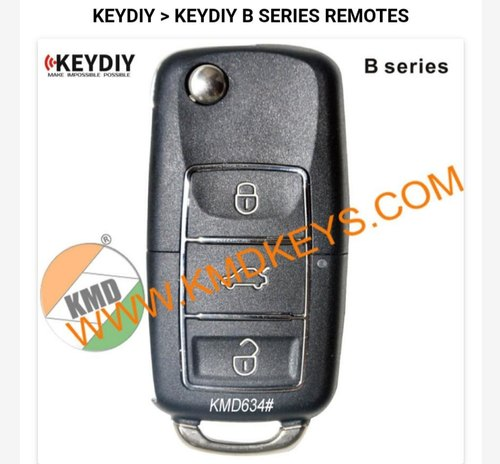 KMD634 Luxury 3 Button Remote Four Wheeler Key