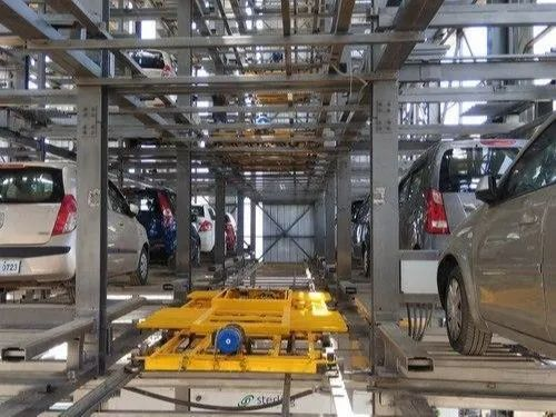 Automated Tower Parking-Shuttle Dolly