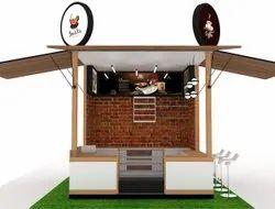 Wooden Food Kiosk