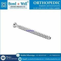 Fully Thread Orthopedic Implants Cannulated Bone Screw