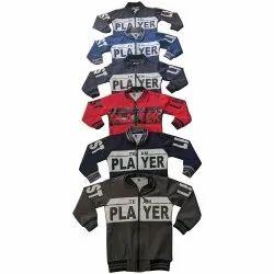 Cotton Boys Full Sleeve Jacket, Size: 2-6,8-16