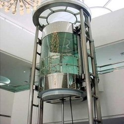 Round Glass Elevator