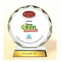 AC 8424 Circular Jewel Acrylic Trophy