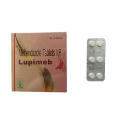 Mebendazole Tablets Lupimeb, Non prescription, Packaging Type: Strip