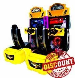 Car Racing Arcade Game Machine - Out Runner Twin