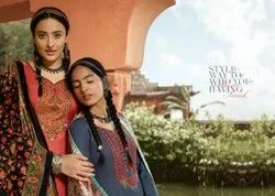 Viona Suit Presents Ajrak Euro Wool