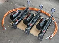 Hydraulic Double Plunger Hand Pump