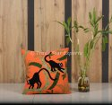 Hand Embroidered Suzani Cushion Cover Decorative Sofa Pillow Case 16x16  Cotton Cushion Cover
