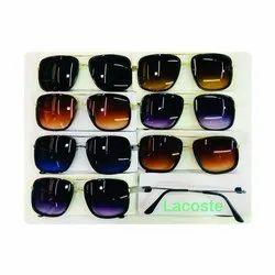 Lacoste Golden Square Stylish Sunglasses