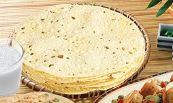 White 400 Gram Moong Punjabi Masala Papad