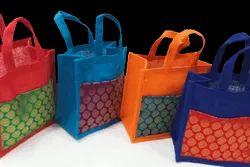 Jute Brocade Bag