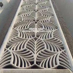 Decorative GRC Jali, Size: 25*25 Inches