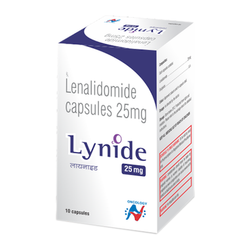 Hetero Lynide (Lenalidomide )25 mg, Packaging Size: Pack Of 10 Capsules