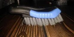 Blue Black Small Upholstry Cleaning Brush