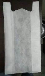 Plain W Cut Non Woven Bag