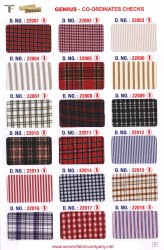 22008 School Uniform Twill Suiting Fabric