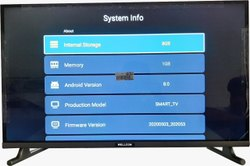 Wellcon 32 Frameless Android 8.0 LED TV