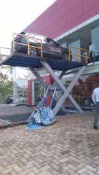 Scissorlift  Lift for car parking