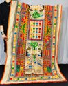 Kalamkari Print Madhubani Embroidered Dupatta
