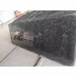 Polished Steel Grey Granite Slab, Rectangular, Thickness: 18 Mm