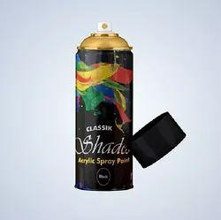 Classic Matte White Aerosol Spray Paint, For Metal, Packaging Type: Bottle