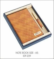 Note Book Size Gift Set