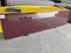 Polished Slab JHNASI RED, For Flooring, Thickness: 15-20 mm