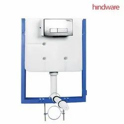 Starwhite Hindware Concealo Neo (80 Mm) Half Frame And Accessories, For Toilet