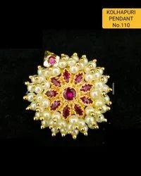 110 Kolhapuri Fashion Pendant