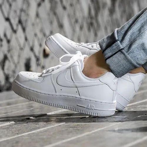 nike air force 1 white fashion