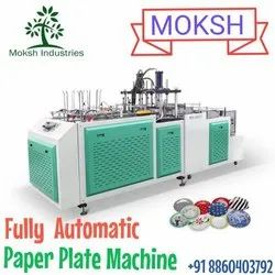 Moksh Paper Plate Machine