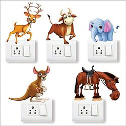 Ah Decals Switch Board PVC Wall Sticker