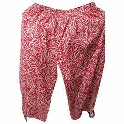 Ladies Cotton Capri, Size: XL, XXL
