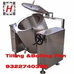 Tilting And Boiling Pan