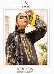 Kaara Suits Firdous Vol-4 Lawn Collection Pakistani Style Suits Catalog