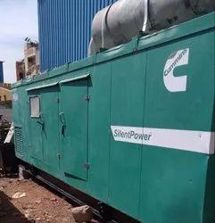 Three Phase 500 kVA Used Cummins Pre Owned Generator Set