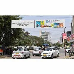 Ofline Frame and Flex Society Entrance Gate Branding Services, For Advertisement, Delhi Ncr